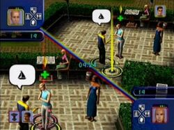 Sharla in The Sims for Console