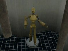 Sims3 Servo Sculpture