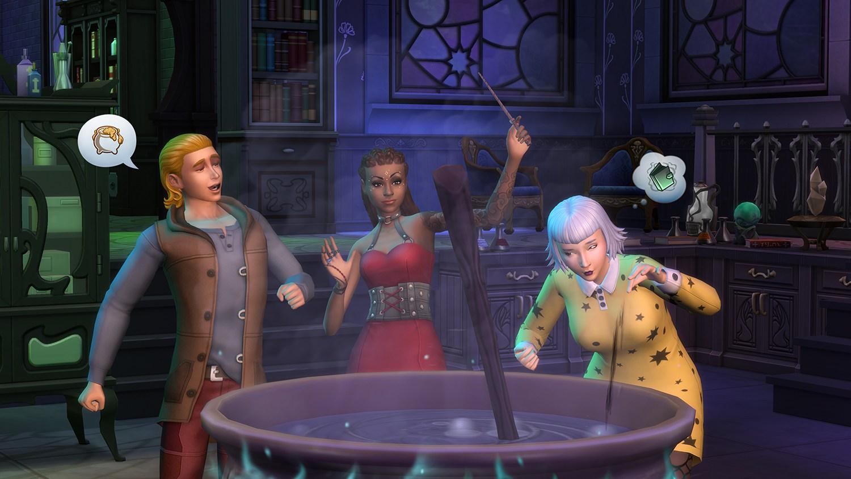 Magia en Los Sims 4