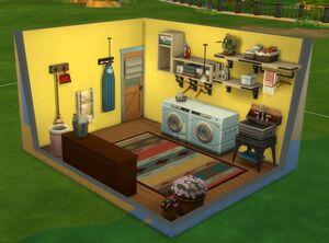 Les Sims 4 Jour de lessive - Style de pièce