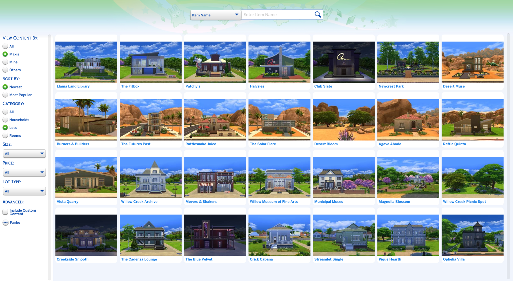Lots and Houses bin | The Sims Wiki | FANDOM powered by Wikia