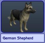 German Shepherd (Sims 2)