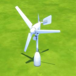 TS4 Classic Wind Turbine - Roof