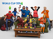 TS4 World Cup 2014 Render