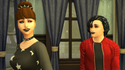 The Sims 4 - Ingram & Dolores - those looks tho