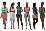 Kiri Outfits TS4