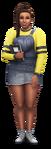 Les Sims 4 À la fac Render 02