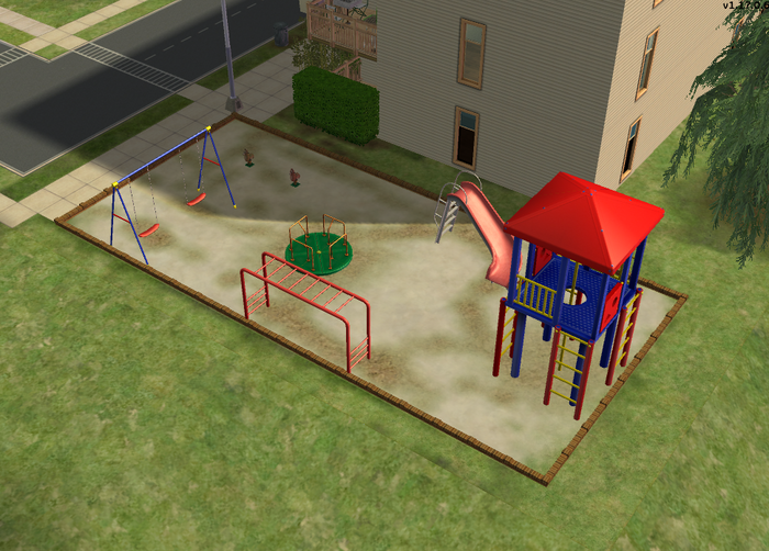 Sentinel Apartments playground