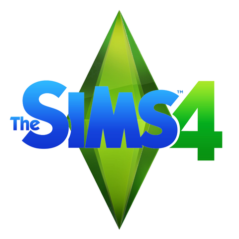 Logo de Los Sims 4, version de Los Sims 3