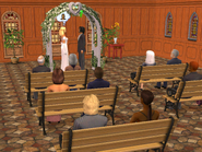 Claudio og Olivia's bryllup