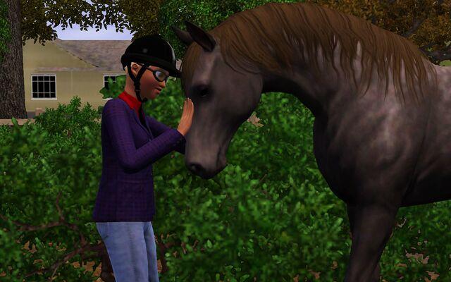 File:Eliza and a horse.jpg