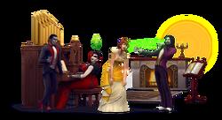 Les Sims 4 Vampires Render 1