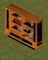 Ts1 libri di regina bookcase