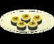 Экзотические фруктовые пирожные