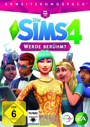 Die Sims 4 Werde berühmt Cover