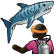 W watch a shark