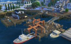 Whiskerman's Wharf pier