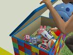 Freezer Bunny toy box 1