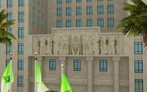 Roaring Heights Hôtel de ville Les Sims 4