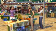 TS4ПД Сим покупает предметы на рынке