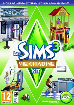 Jaquette Les Sims 3 Vie Citadine