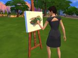 Рисование (The Sims 4)