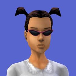 Cassandra Goth (The Sims console)