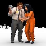 Les Sims 4 Au Travail Render 15