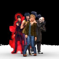 Les Sims 4 Vampires Render 2