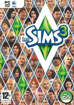 Packshot Les Sims 3 (V1)