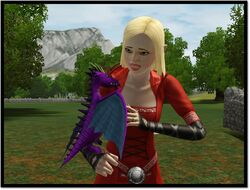 Dragon violet 01