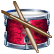 Drums skill icon