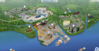 Evergreen Harbor sans empreinte eco