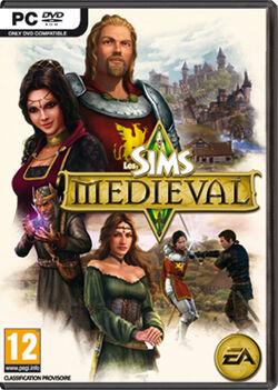 Jaquette Les Sims Medieval
