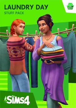 The Sims 4 Laundry Day Stuff Cover