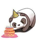 Bday panda