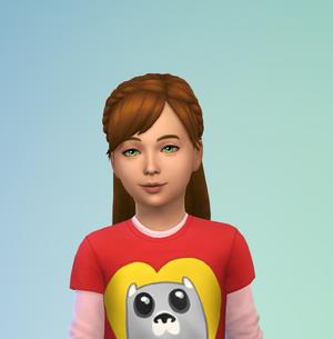 Lily lincoln-croft child