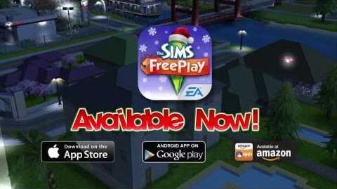The Sims FreePlay Holiday Update Now Available