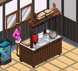 Ts1 sushi cart