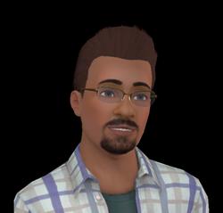 Darren Dourève (Les Sims 3 - Lucky Palms)