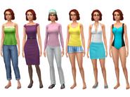 Eliza Pancakes wardrobe