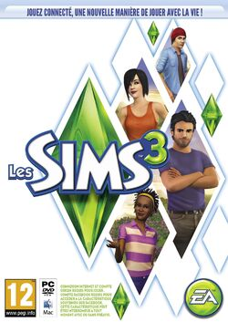 Packshot Les Sims 3 (V3)