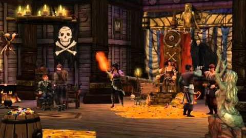 Los Sims Medieval Piratas y Caballeros - Disco de Aventuras - Tráiler oficial en español