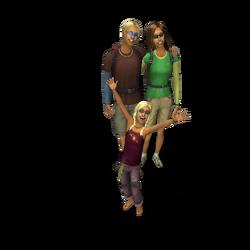 Reiziger familie