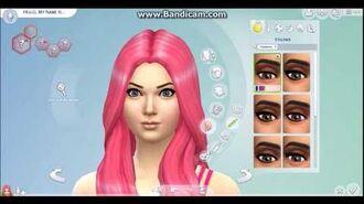 CAS Modern Sakura Haruno Sims 4