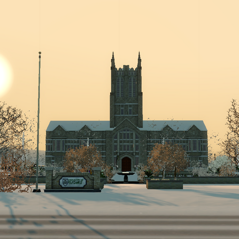 El centro universitario con la expansión