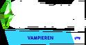 De Sims 4 Vampieren Logo V2