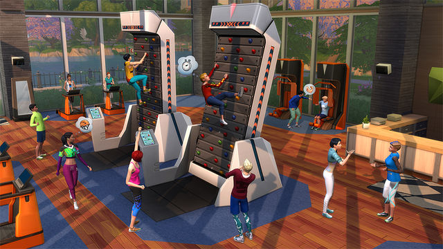 Sims4 Fitness 1