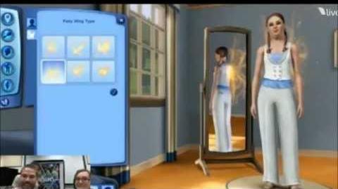 Sims 3 creando un Hada