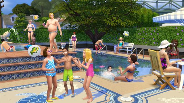 TS4 Sim Summer